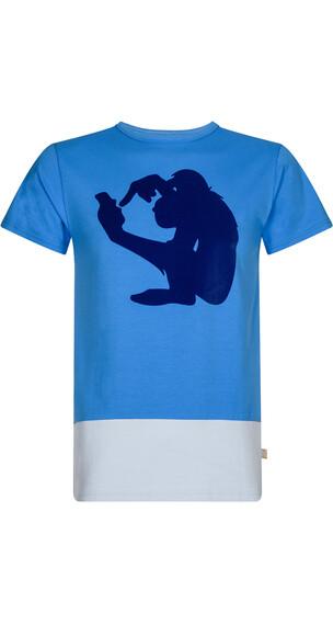 Nihil Social Monkey Tee Men Vista Blue
